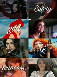 Every girl is princess. Teen wolf girls, Kira, Lydia, Allison, Malia