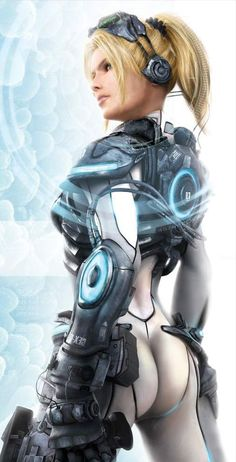 Starcraft Ghost Nova Terra (Not sure I understand the naked derriere