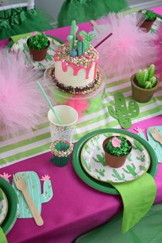 Cactus Cutie Party Package by A Party Made Perfect #cincodemayo #party #cactusparty