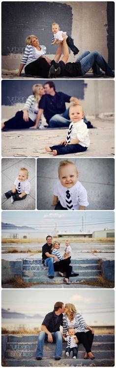 Ideas para sesiones de fotos familiares fotograf a for Urban family photo ideas