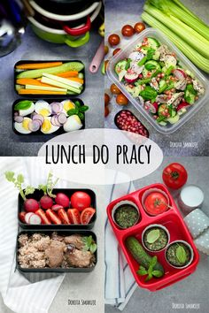 Co do jedzenia do pracy? What to eat for work? Diy Cake, Bento, Meal Prep, Picnic, Lunch Box, Food And Drink, Healthy Eating, Homemade, Vegetables