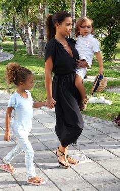 Kim Kardashian Photo - Kim And Kourtney Kardashian Take Mason and Sophia Pippen To The Miami Children's Museum