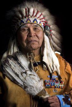 Native American Army Veteran Glen Douglas
