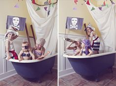 This is a great idea for a Pirate themed birthday invitation