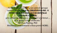 Dr.Linus Pauling, vitamina C si bolile cardiovasculare Cantaloupe, Fruit, Vitamin C