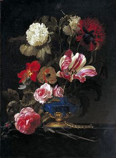 Still Life in a Vase (Willem van Aelst)