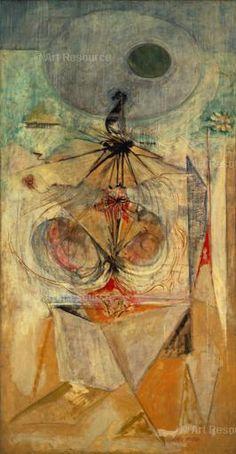 Mark Rothko, Tiresias, 1944. Herederos de Rothko.