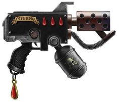 warhammer 40k flamer pistol - Google Search