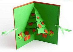 Diy Christmas Cards Pop Up Tree
