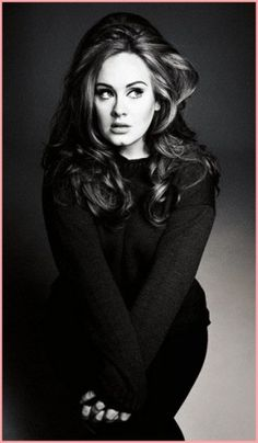 Giant amazing hair. Thanks, Adele, for bringing this back.