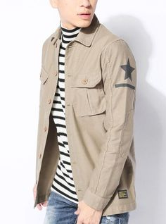 カーキ XL (ジャックポート)JACK PORT ミリタリー シャツ ジャケット ロング メンズ 長袖 長そで 7分袖 7分 七分袖 七分 MA-1 ミリタリージャケット ミリタリーシャツ Yシャツ ビジネス 白 きれいめ ワイシャツ カットソー Tシャツ メンズシャツ シャツメンズ ジーンズ デニムパンツ チノパン チンパンツ 春 夏 秋 冬 JP818697007301