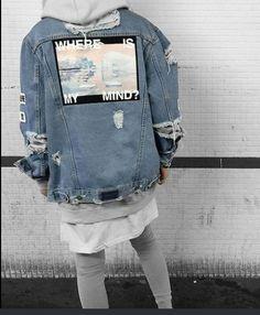 ID on denim jacket? : streetwear