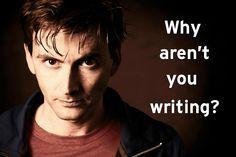"""you should be writing"" David Tennant - Google Search"
