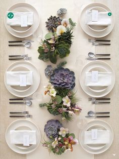 succulent wedding centerpieces | Share
