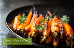 Organic Oven-Roasted Whole Carrots - Use cinnamon to add some sweetness to this savory side dish.