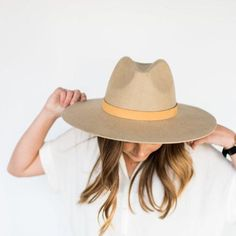 32cfd8bfca GIGI PIP Hats for Women- Emma - Stiff Brim Fedora-Felt Hats Womens Closet