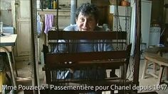 Mme Pouzieux-- long time passementiere maker for Chanel