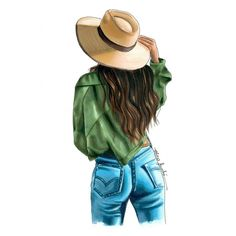 TAG a country girl! Girl Drawing Sketches, Cute Girl Drawing, Girly Drawings, Cool Art Drawings, Fashion Illustration Sketches, Illustration Girl, Fashion Sketches, Megan Hess, Modelos Fashion