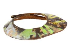 Stamped Bangles--Graffiti  by Leather Couture by Jessica Galindo