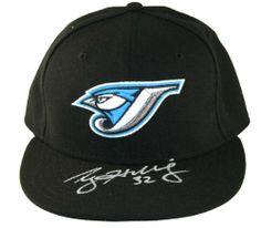 2d6679b35c4 ROY HALLADAY Toronto Blue Jays SIGNED Baseball Cap Price  199.00