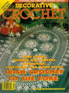 Decorative Crochet JANUARY 1994-Number 37 - DEHolford - Picasa Web Albums