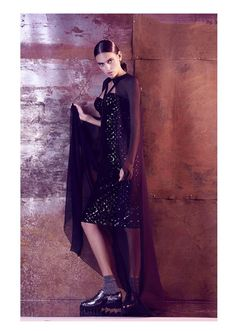 The Stunning Look, retro future fashion, retro inspired, fashion editorial