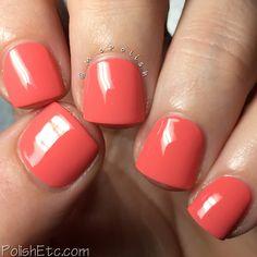Kiara Sky Nail Lacquer - McPolish - Romantic Coral