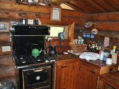 small kitchen cool old retro stove