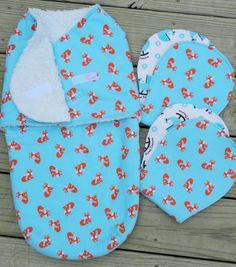 Swaddles, Sleep Sacks, Snugglers, Baby Sleeping Bag Boy/Girl/Gender Neutral, Size 0-6 months, Matching set of Burp Cloths by DaniMadeIt4U on Etsy