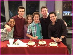 """Billy Unger's Early Birthday On The Set Of Disney XD's """"Lab Rats"""""""