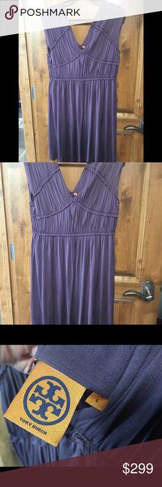 7048d2c8636a Tory Burch 100% Silk Dress Excellent Condition Gorgeous Tory Burch dress in  a stunning purple