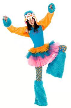 monster costume for teen and tween girls, $69.99 #Monster #MonsterCostume
