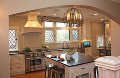 Out of the Box Kitchen from Kitchen and Design News. Small Island well done!