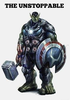 His name should be Captain Thor: Hulk of Iron…