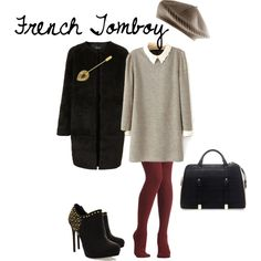 """""""French Tomboy - Winter"""" by nicole-longstreath on Polyvore"""