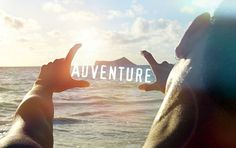 The adventure is in the water.