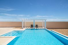 Ultra Modern Pool And Patio | Outdoor Decorating Ideas | Pinterest ...