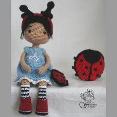 Diy Crochet Toys, Cute Crochet, Crochet Dolls, Knit Crochet, Crochet Hats, Amigurumi Doll, Amigurumi Patterns, Doll Patterns, Crochet Doll Pattern