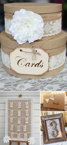 DIY para bodas con encaje