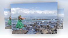 Hula, Hawaiian, Portrait Photography, Concept, Photoshoot, World, Painting, Art, Art Background