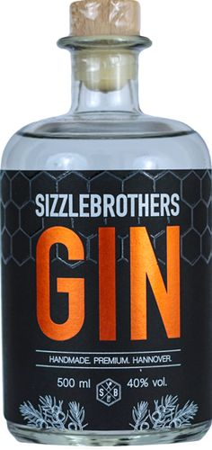 SizzleBrothers Gin - premium. handmade. hannover.