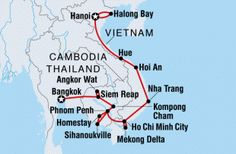 Intrepid Travel's 26 days Indochina Review Thailand, Cambodia, Vietnam Transportation included, 1 night homestay, bike and walking tour, boat cruise, bus, train