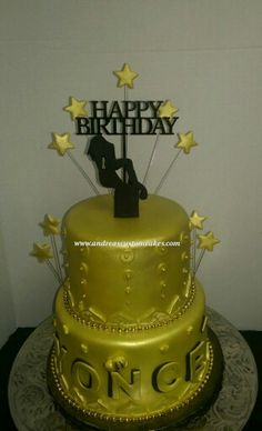 Beyonce themed birthday cake