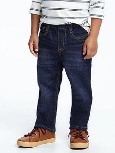 Pull-On Skinny Jeans for Toddler Boys