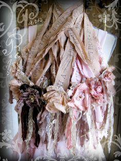 Rag Rose Necklaces