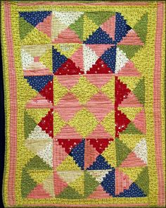 antique doll quilt | courthouse steps