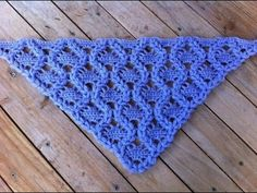 Chal tejido a crochet muy facil / Châle au crochet facile