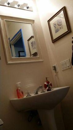 Before half bath