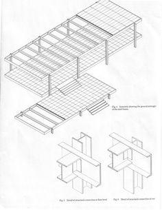 mies van der rohe farnsworth house structure - Hledat Googlem