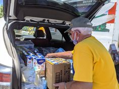 Navajo Nation, Food Drive, Rotary, Caravan, Cleaning Supplies, Eating Habits, Cleaning Agent, Motorhome